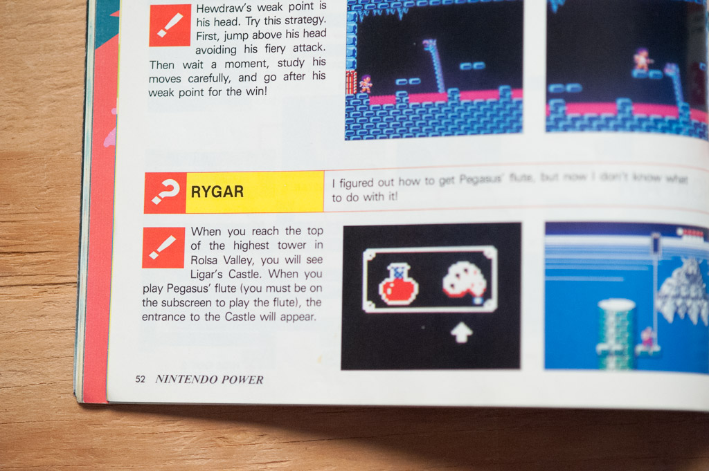 Nintendo Power Issue 1 Counselors' Corner