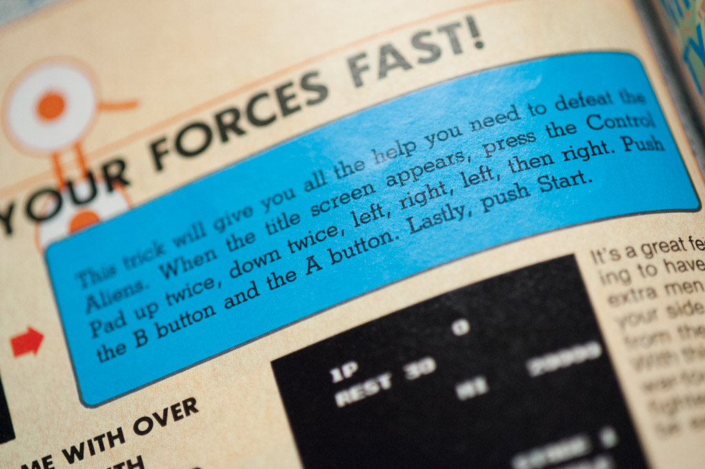 Nintendo Power Issue 1 Classified Information