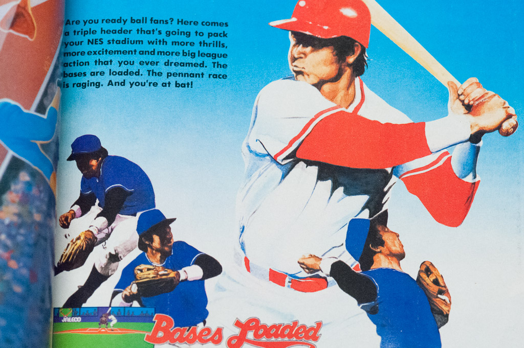 Nintendo Power Issue 1 Baseball Round-Up