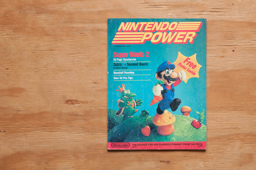 Nintendo Power, Issue 1