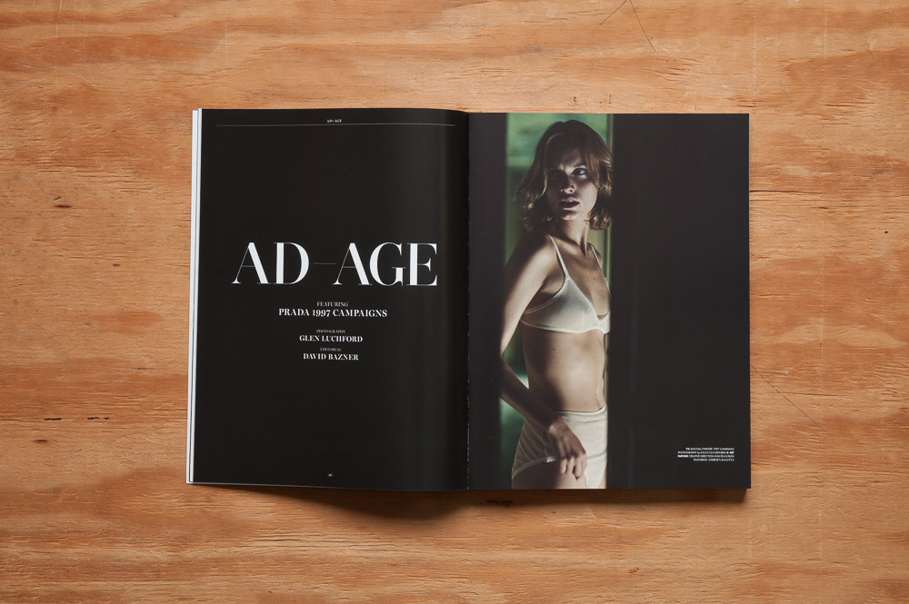 Monroe Magazine Ad-Age opening spread