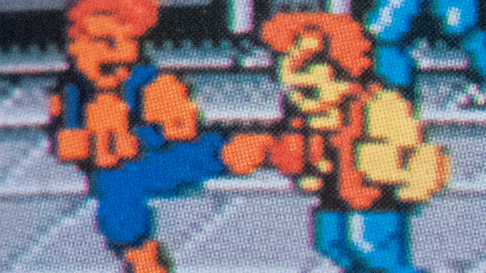 Billy kicking Williams, Nintendo Power, Issue 1