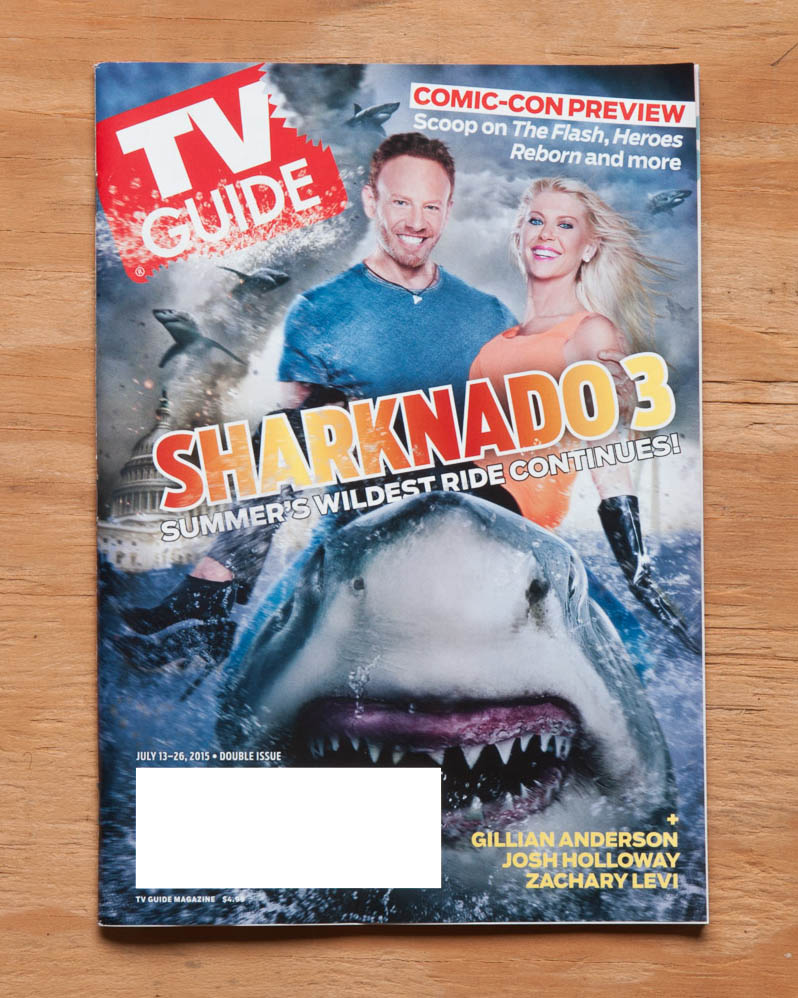 TV Guide Magazine featuring Sharknado 3