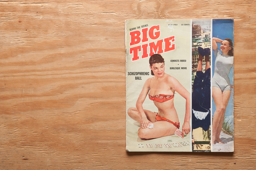 Big Time Magazine, July 1951 cover