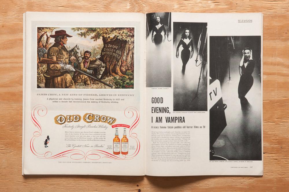 Life Magazine w-Vampira 101715-0375